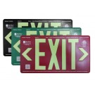 AfterGlow, LLC UL 924 EXIT Sign, Single Face, 75' Viewing Distance