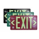 AfterGlow, LLC UL 924 EXIT Sign, Double Face, 75' Viewing Distance